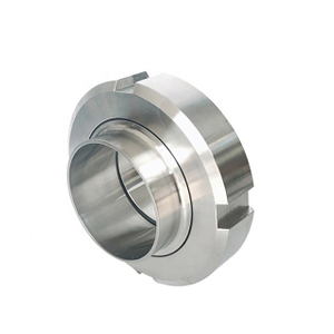 SMS Sanitary Stainless Steel Pipe Round Type Union