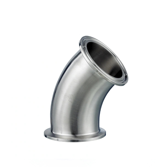 Sanitary Stainless Steel Butt Welded Pipe Elbow Bend