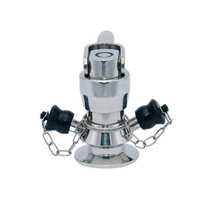 Stainless Steel Sanitary Hygienic Aseptic Clamping Sampling Valves