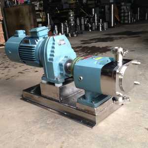 Sanitary Stainless Steel Stepless Variator Rotor Lobe Pump