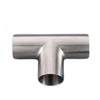 Sanitary Stainless Steel Long Welding Pipe Fitting Tee