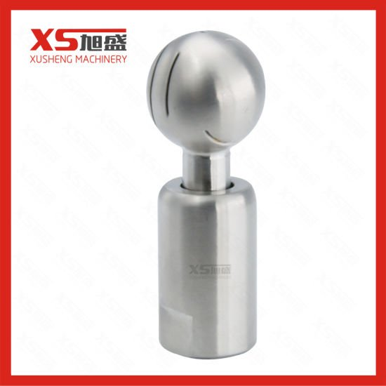 Stainless Steel Sanitary Pin End Tank CIP Rotary Spray Ball
