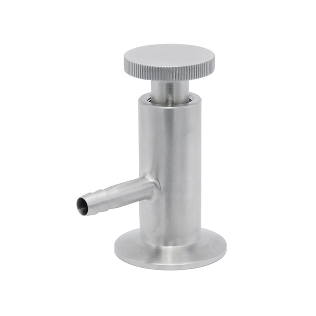 Sanitary Stainless Steel Manual Aseptic Ferrule Sampling Valve