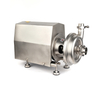0.75KW Stainless Steel Sanitary Open Impeller Centrifugal Pump