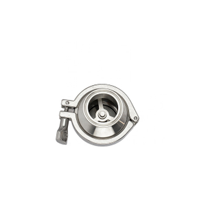 Sanitary Stainless Steel Clamp Non Return Check Valve