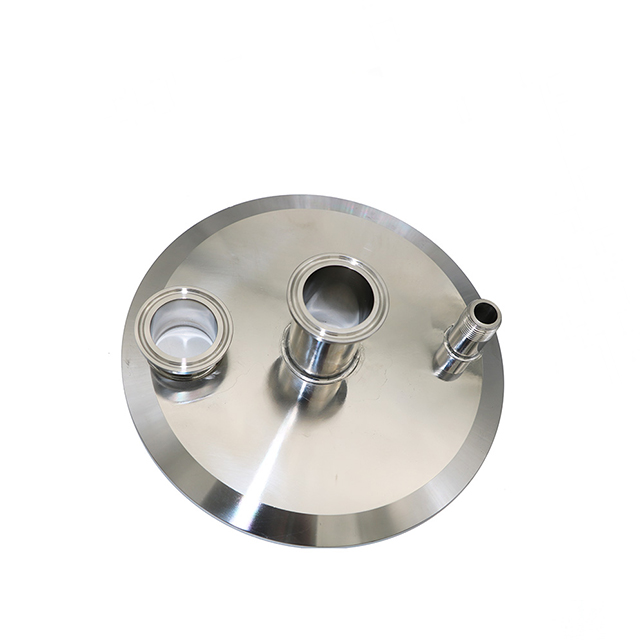 Sanitary Stainless Steel Blind Nut Type End Cap