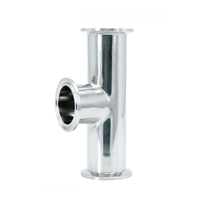 Sanitary Stainless Steel Pipe Fitting Clamp Type Tee