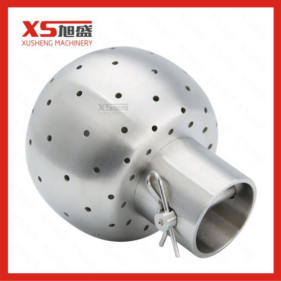 "1/2"" Slip-on Food Grade CIP Cleaning Rotary Ball"
