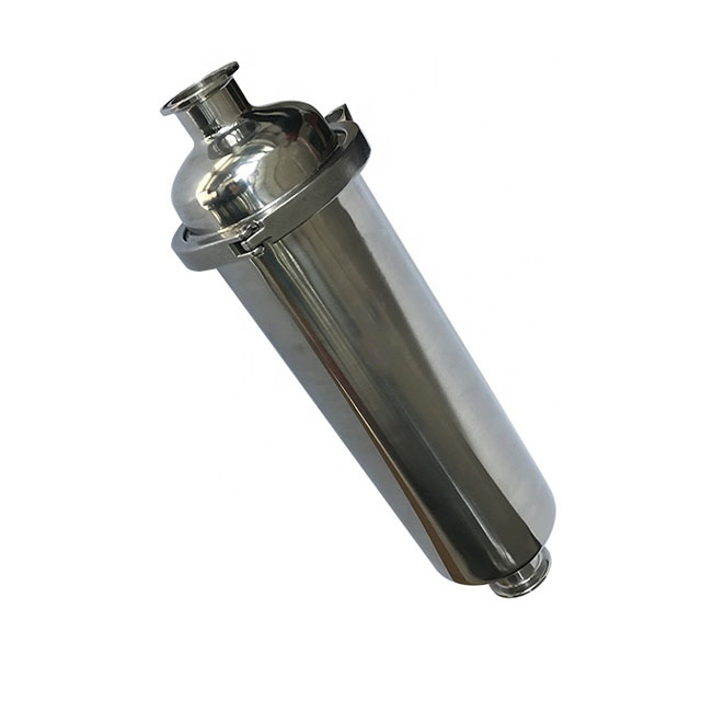 Sanitary Mirror Polish Welding Y Type Filter Strainer
