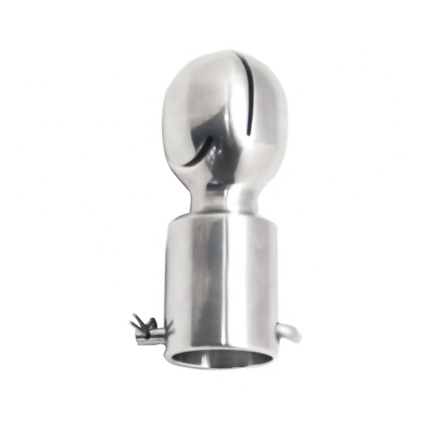 Sanitary Stainless Steel Bolted Rotary Oval Spray Ball