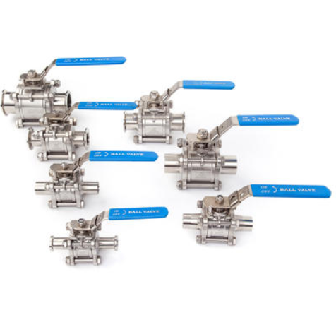 How to maintain sanitary ball valves?