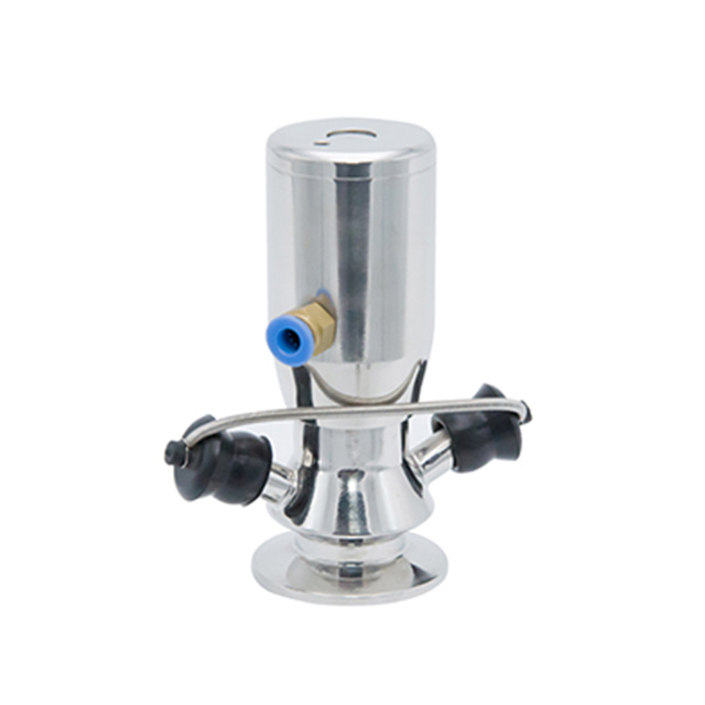 Sanitary Stainless Steel Mini Clamp Manual Sampling Valve