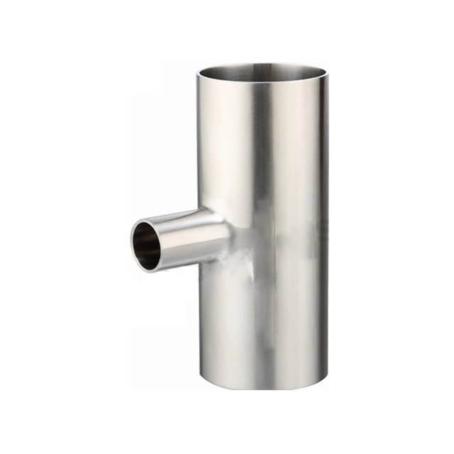 Sanitary Stainless Steel Long Reduce Pipe Fitting Tee