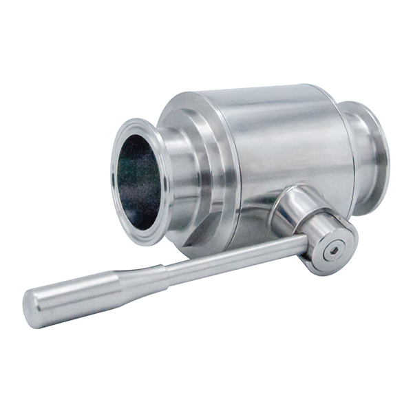Sanitary Hygienic Stainless Steel Straight Clamped Ball Valves