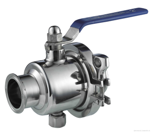 Stainless Steel Sanitary Hygienic Weld Portable Ball Valves