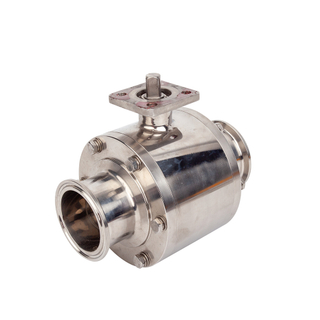 Stainless Steel Sanitary Full Port Non-retention Manual Ball Valves