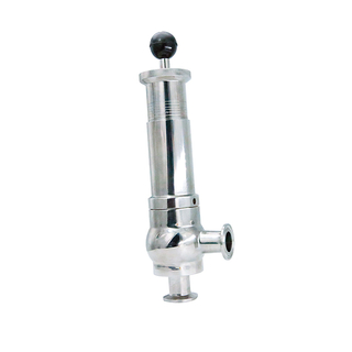 Sanitary Stainless Steel Adjustable Clamp Safety Valve