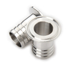 Sanitary Stainless Steel Pipe Clamp End Hose Adapter