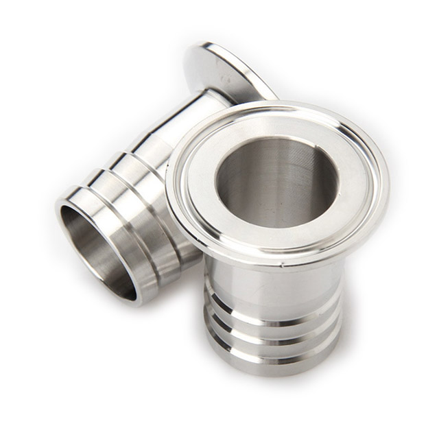 Sanitary Stainless Steel Pipe Tri Clamp Hose Adapter