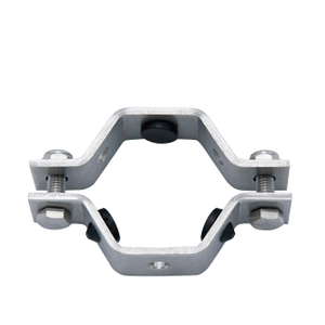 TH4 Sanitary Black EPDM Gasket Hexagon Pipe Holder