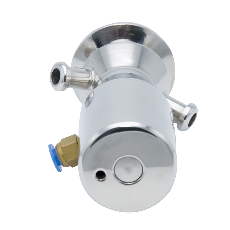 Stainless Steel Sanitary Aseptic Pneumatic Sampling Cock Valves