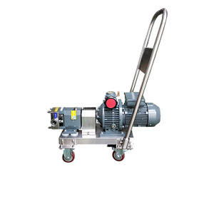 Stainless Steel Hygienic Sanitary Movable Lobe Rotor Pump
