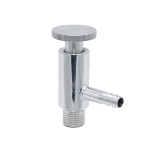 Sanitary Stainless Steel BSP Male Threaded Sampling Valve