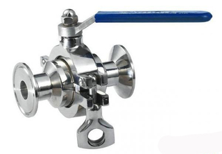 Stainless Steel Sanitary Non Retention Ball Valves