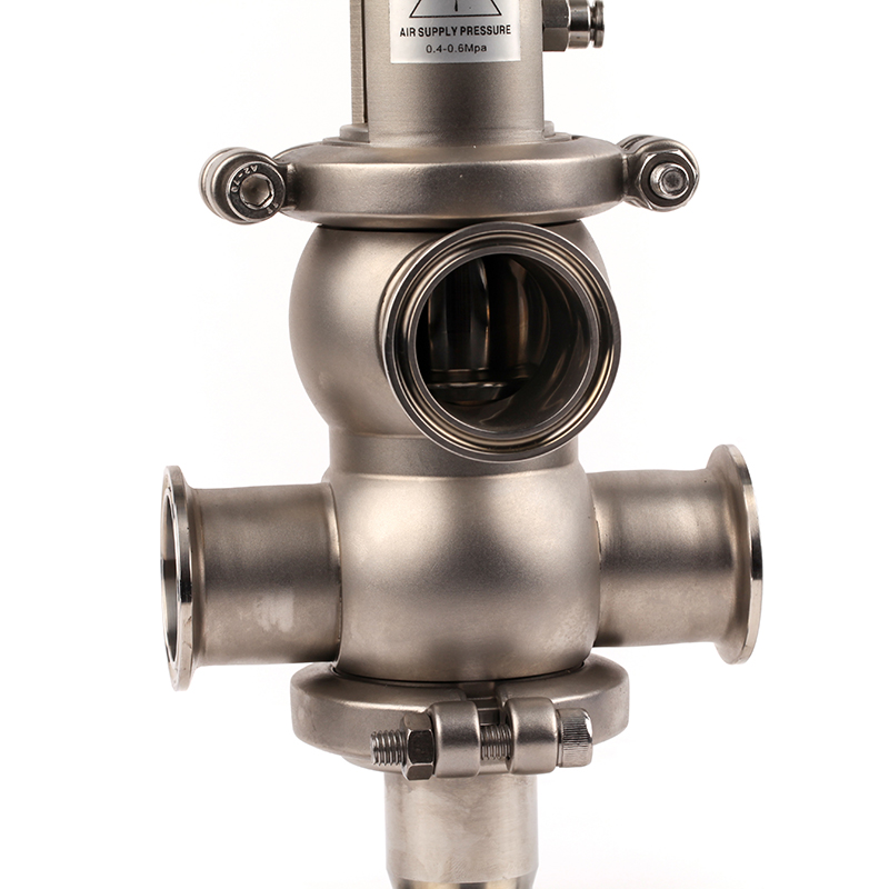3 inch Sanitary Double Seat Mix proof Valves
