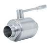 Sanitary Stainless Steel Heavy Type Weld Ball Valves