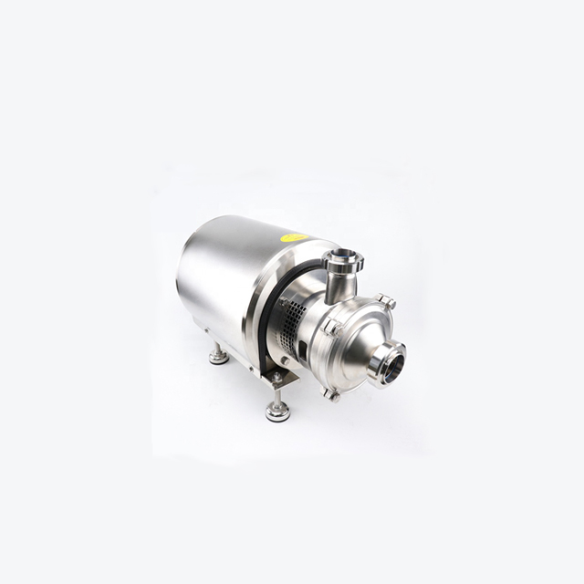 Sanitary Stainless Steel Self Suck Water CIP Pump