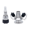 Stainless Steel SS316L Micro Biology Aseptic Sampling Valves
