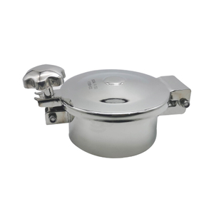 Stainless Steel Sanitary Tank Manway with One Handle