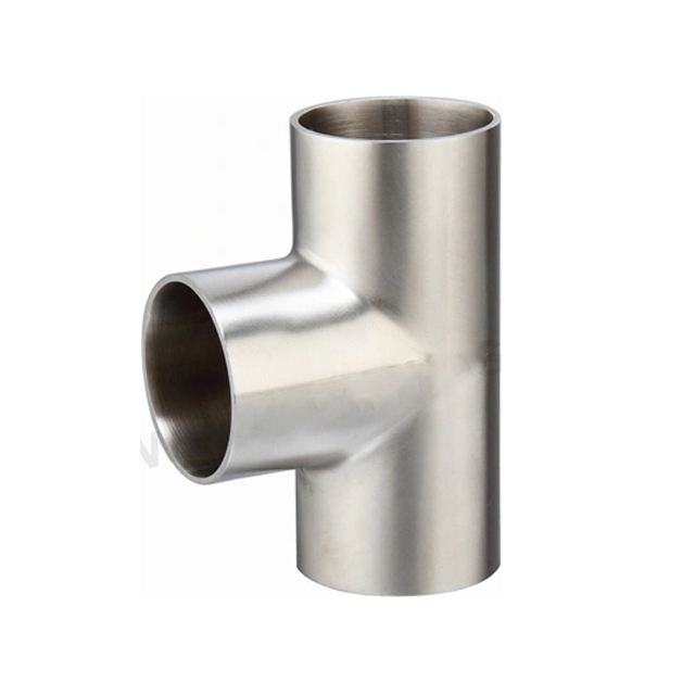 Sanitary Stainless Steel Short Welding Pipe Fitting Tee
