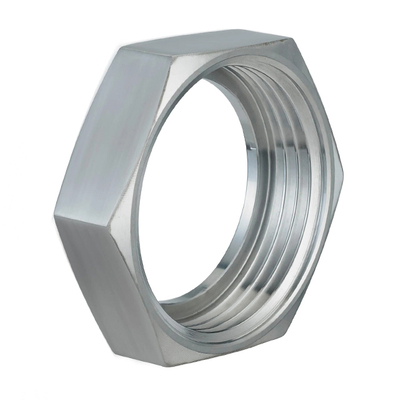 RJT Sanitary Stainless Steel Pipe Hex Nut Union