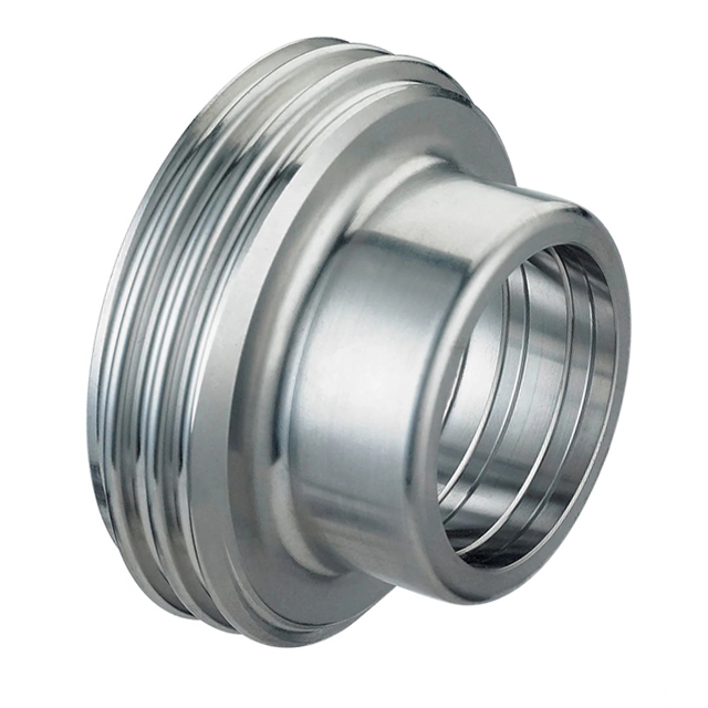 SMS Sanitary Stainless Steel Round Nut For Union