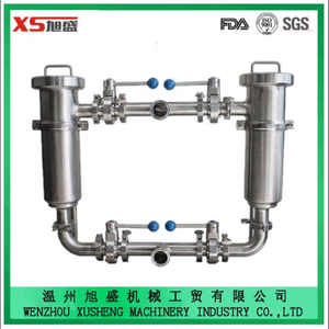 Stainless Steel Ss316L Sanitary Hygienic Duplex L Shape Filter