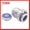 Stainless Steel SUS304 Spray Ball Nozzle with Union Assembly