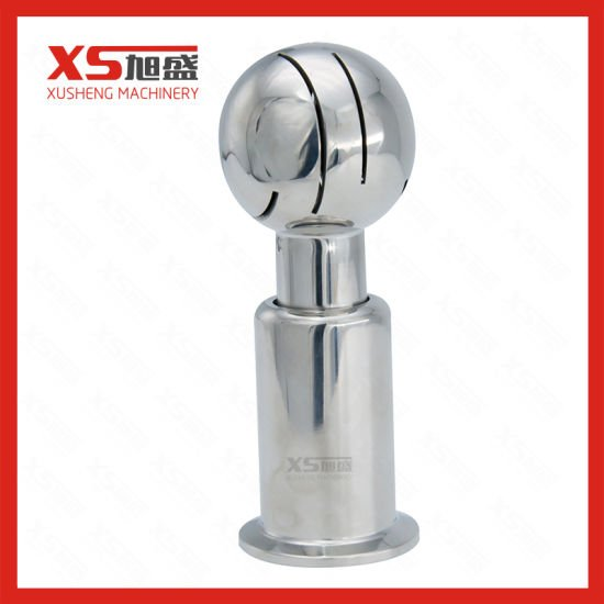 "Clamp 304 Stainless Steel 3/4"" Rotating Spray Ball"