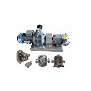 ZB3A-100 11KW Stainless Steel Sanitary Hygienic Positive Lobe Rotary Pump