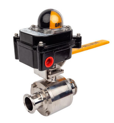 Sanitary Non-retention Manual Ball Valves with Proximity Switch .jpg