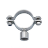TH6 Sanitary Bule Silicone Gasket Round Pipe Holder
