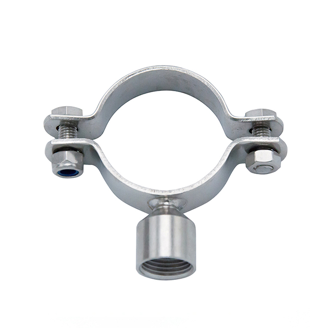 TH5 Sanitary Stainless Steel Fitting Round Pipe Holder