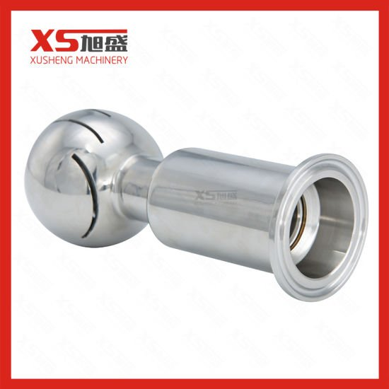 Stainless Steel Hygienic Ferrule Ends Tank CIP Washing Head