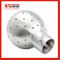 Stainless Steel Hygienic Pin Ends Static Spray Nozzle for Brewery Equipment