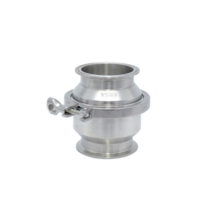 Sanitary Stainless Steel Quick Installation Check Valve