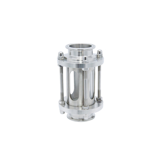 Stainless Steel Sanitary Grade Inline Clamping Sight Glass