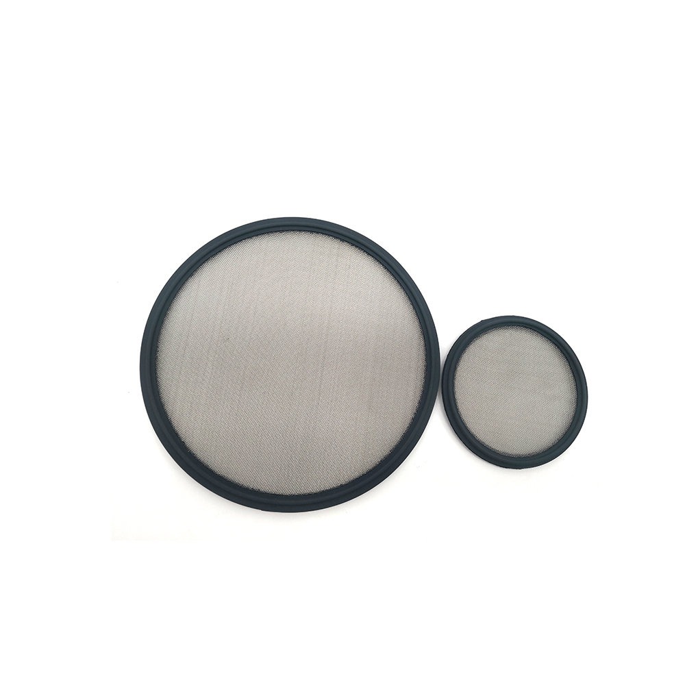 High Quality Food Grade Seals for Tri Clamp Viton Gasket with Ss 100 Mesh Net