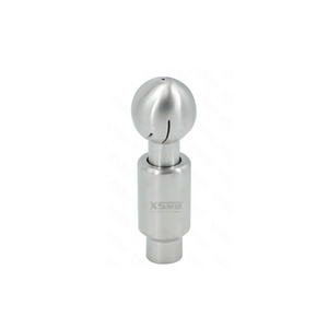 Stainless Steel Rotary Cleaning Ball with Pin