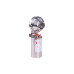 Stainless Steel Sanitary Pneumatic Air Operated clamp Butterfly Valve